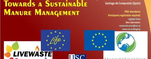 Estrategias Innovadoras hacia una Gestión Sostenible de Purines, 8 de octubre de 2015, Santiago de Compostela