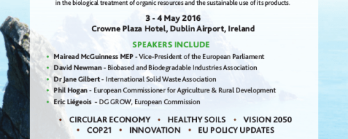 GORC, Global Organic Resources Congress, Dublin 3 y 4 mayo de 2016