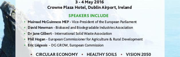 GORC, Global Organic Resources Congress, Dublin 3 y 4 mayo de 2016