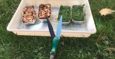 Caracterización de materiales iniciales y cálculo de mezclas para compostar