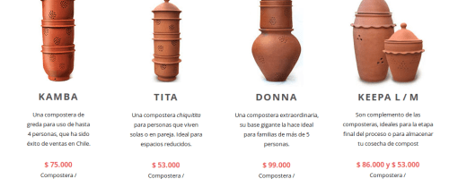 Compostadoras domésticas «Made in Chile» (MIMBA COMPOST)