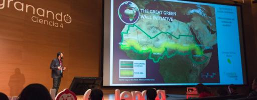 Charla de Germán Tortosa en Desgranando Ciencia 2017