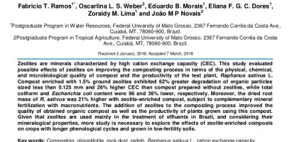 Las zeolitas mejoran el proceso de compostaje
