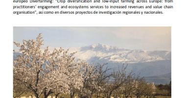 Oferta de beca pedoctoral para investigar sobre manejo sostenible de sistemas agrícolas en ambientes semiáridos  (hasta el 8 de septiembre de 2018)