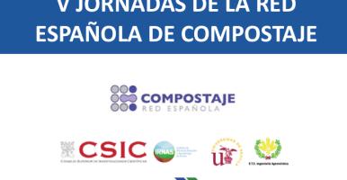 Ponencias de las V Jornadas de la Red Española de Compostaje (Sevilla, 2016)