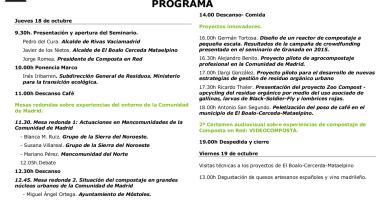 Diseño de un reactor de compostaje a pequeña escala (Composta en Red, Madrid, 18 y 19 de octubre de 2018)