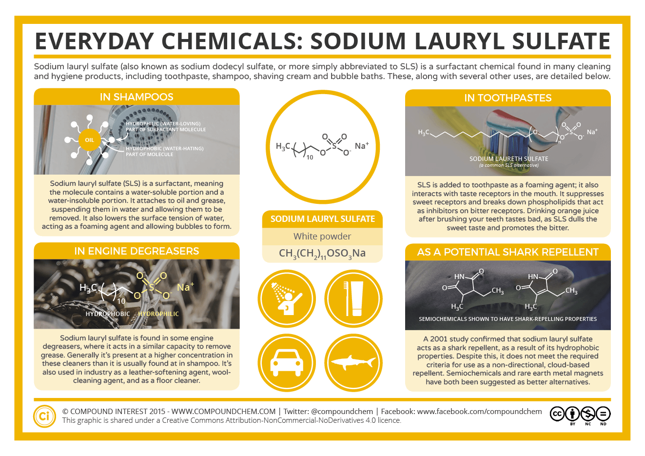 What Makes Shampoo Foam Everyday Compounds Sodium Lauryl Sulfate