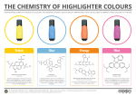 The Chemistry of Highlighter Colours