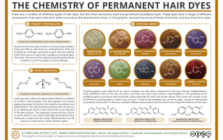 The Chemistry of Permanent Hair Dye Colours