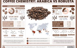 Coffee chemistry – arabica vs robusta