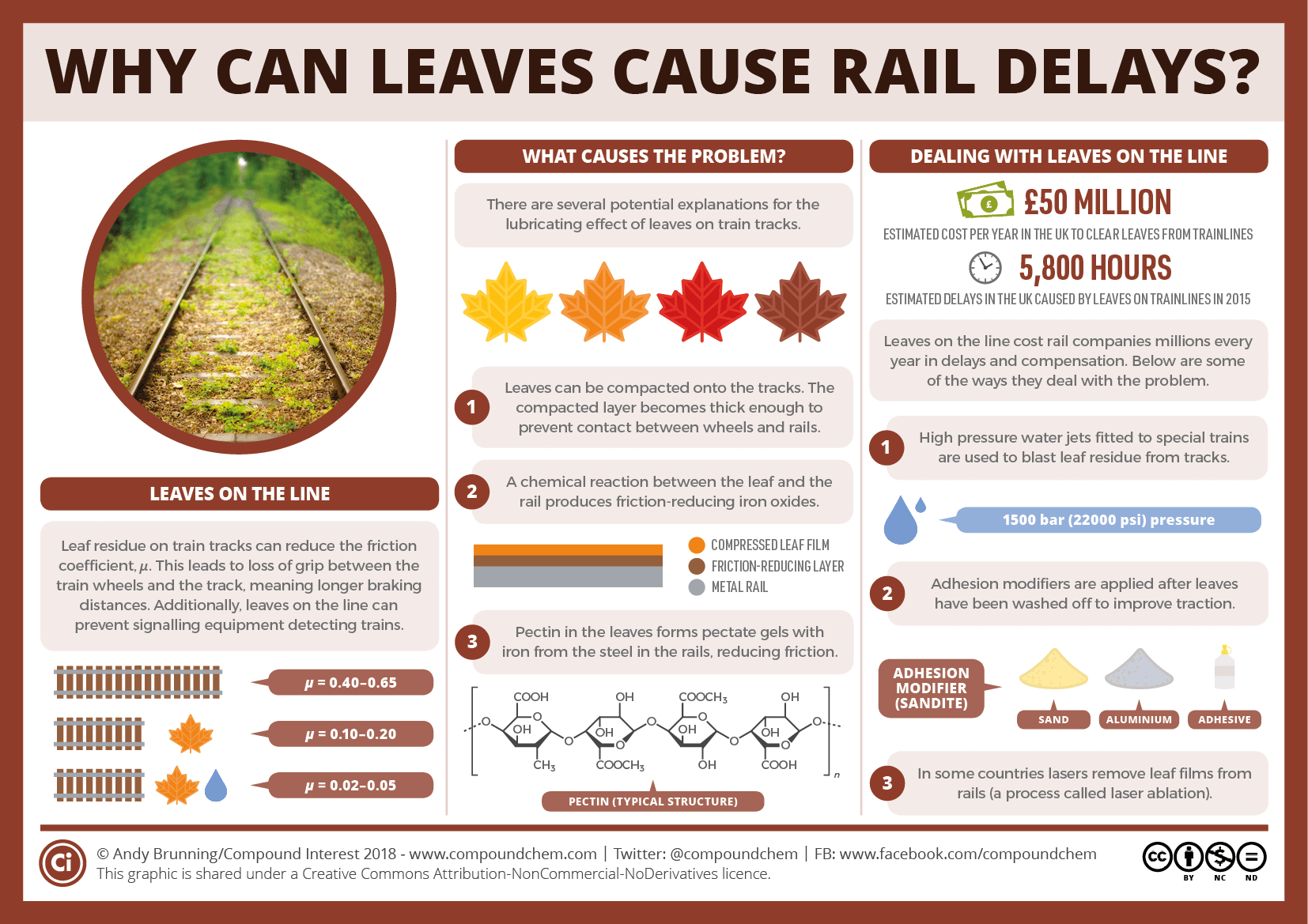 Why can leaves cause rail delays_