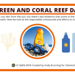 Sunscreen and coral reef damage – in C&EN