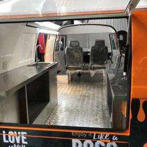 Interior Camión de Comida