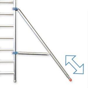 estabilizador andamio de aluminio