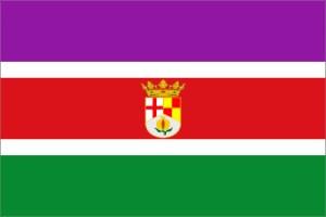 Bandera propuesta por la PAO para Andalucía Oriental