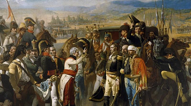 Fiestas-Conmemorativas-de-la-Batalla-de-Bailé---Banderas-españolas-contra-francesas