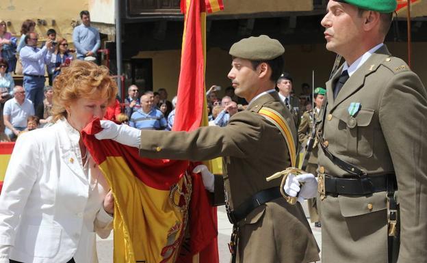Jura de Bandera de España