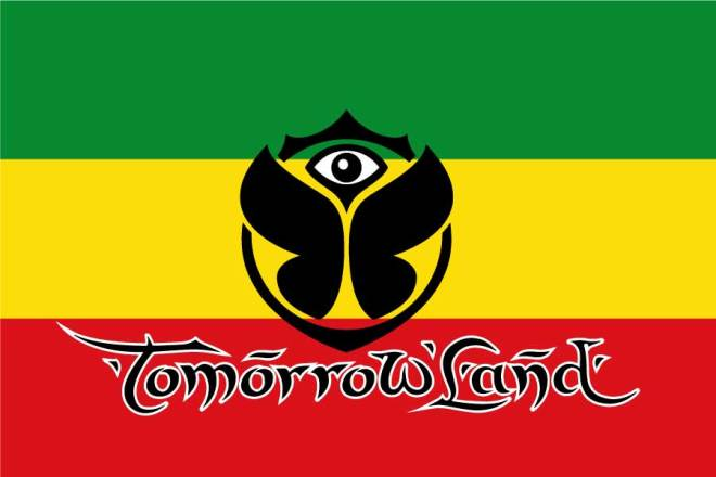 Bandera Tomorrowland Rastafari