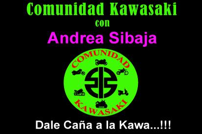 Bandera Comunidad Kawasaki Personalizada Nombre