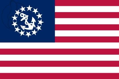 Bandera Pabellón especial para embarcaciones de recreo de los Estados Unidos