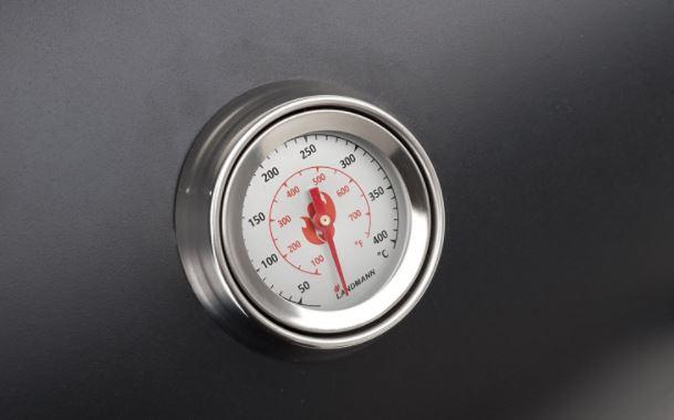 Termometro barbacoa Landmann Black Taurus