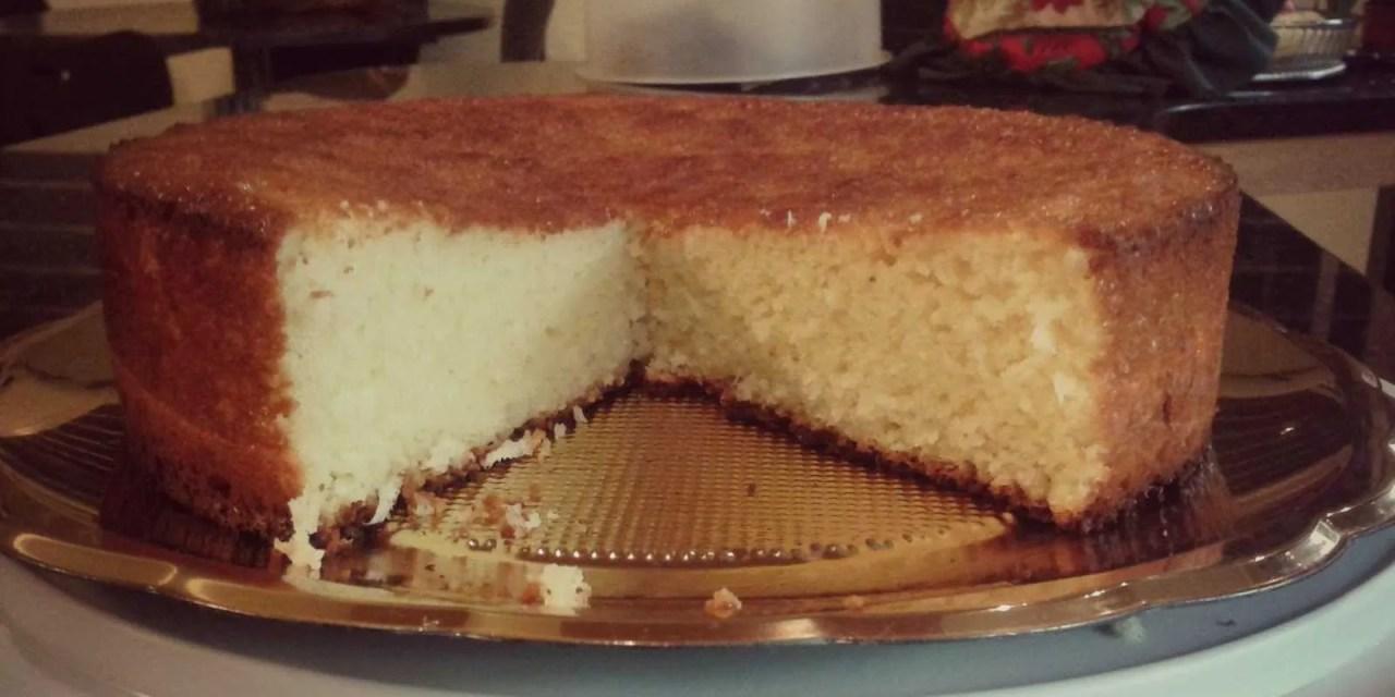 Torta de coco y Kéfir