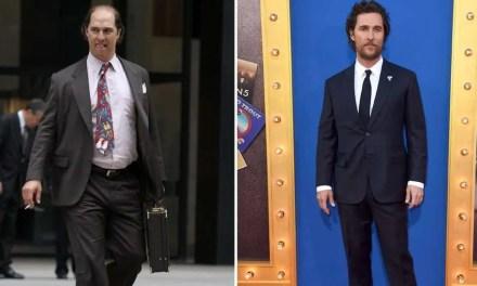 La dieta de Matthew McConaughey para adelgazar 23 kilos