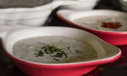 Salsas Raitas para acompañar kebabs, ensaladas, paellas y pan árabe