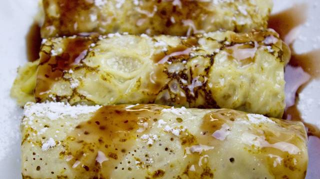Crepes muy tiernos y deliciosos a base de kéfir