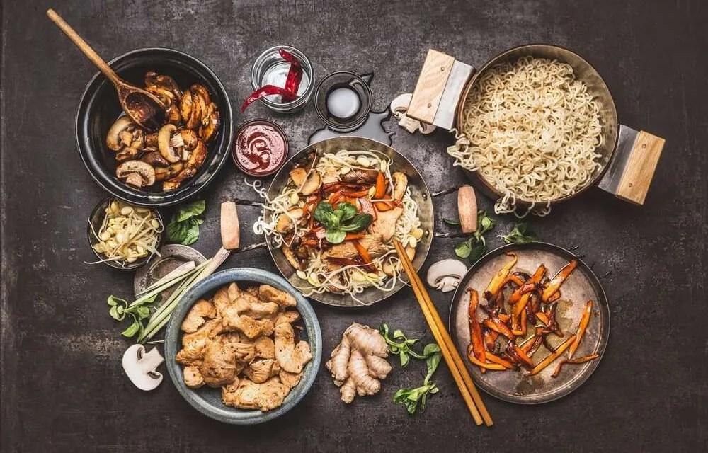 5 alimentos orientales para ser delgado