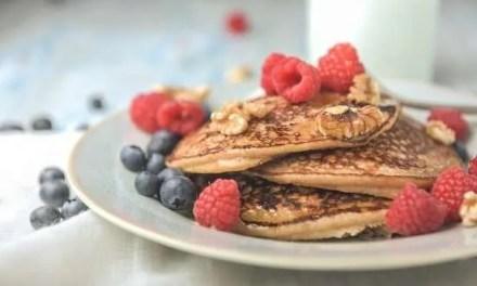 Receta de Pancakes de kéfir