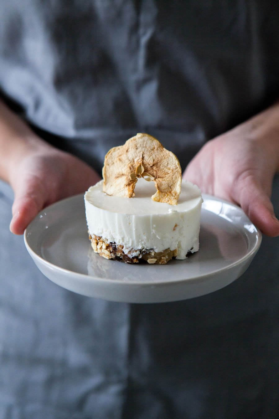 Cheesecake de Kéfir y Muesli