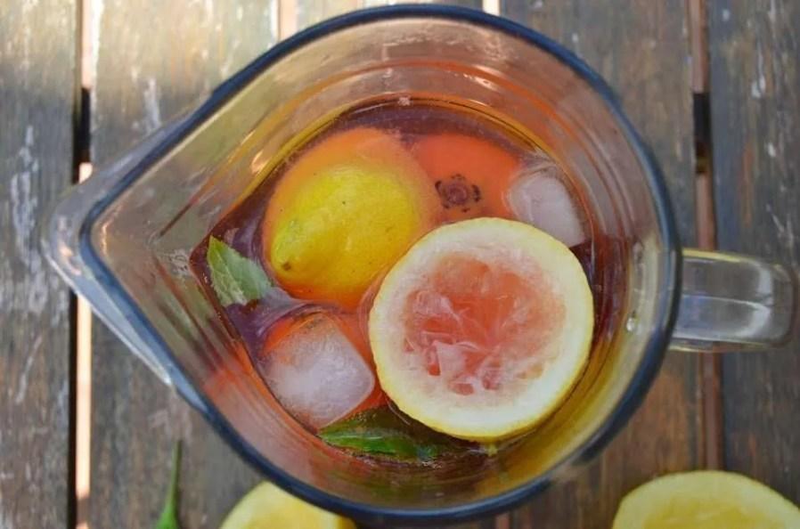 Limonada con Bitter