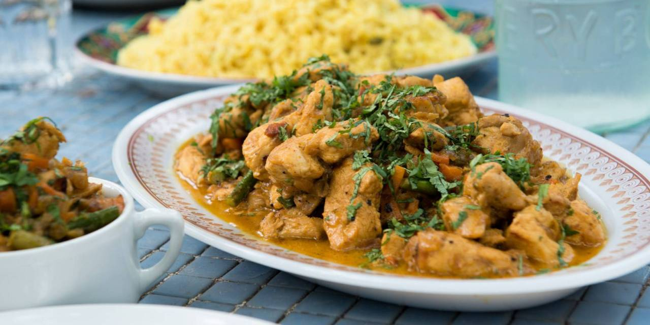 Pollo marinado con especias y Kéfir