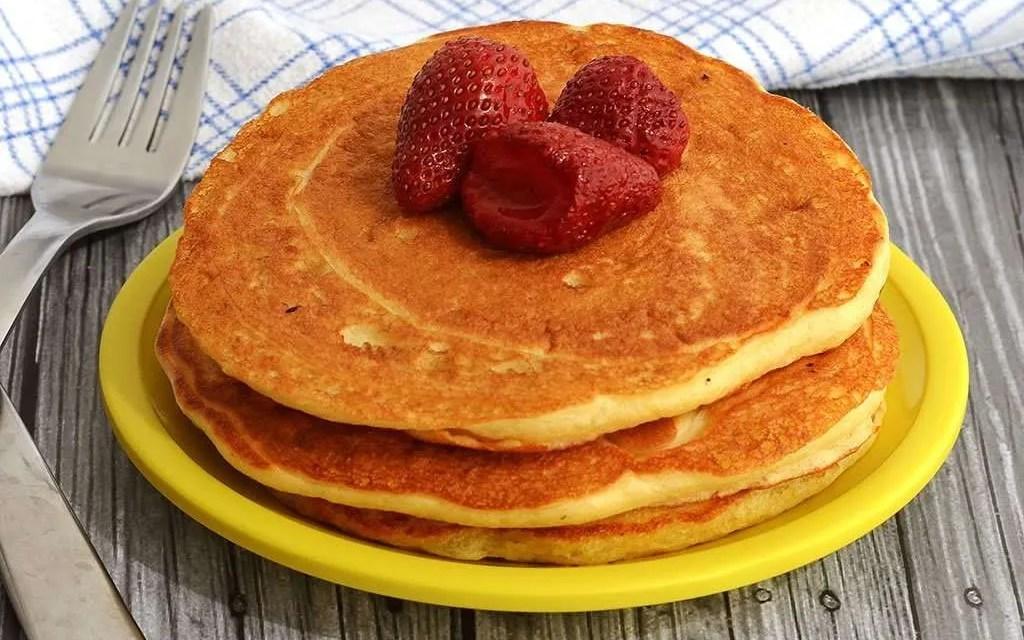 Hot Cakes de Kéfir. Receta para el desayuno