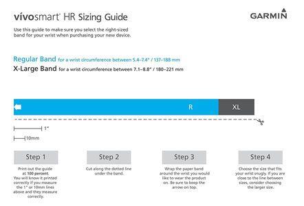 Garmin Vivosmart HR - pulsera 24 horas