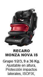 recaro monza nova is