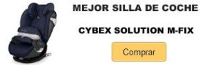 Comprar mejor silla de coche Cybes Solution M-Fix