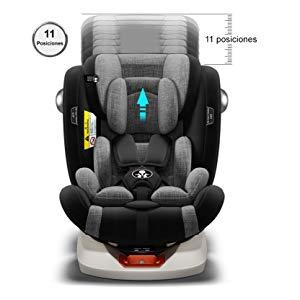 silla de coche 11 posiciones - crece con tu bebe