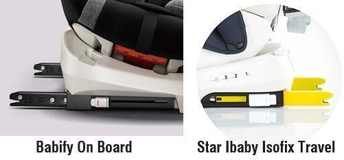 Sistema Isofix 2.0 y 3.0 - Babify vs Star Ibaby