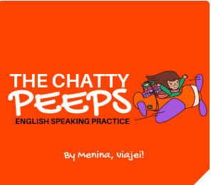 curso Chatty Peeps English Speaking Practice Laís Gonçalves ( Menina Viajei)