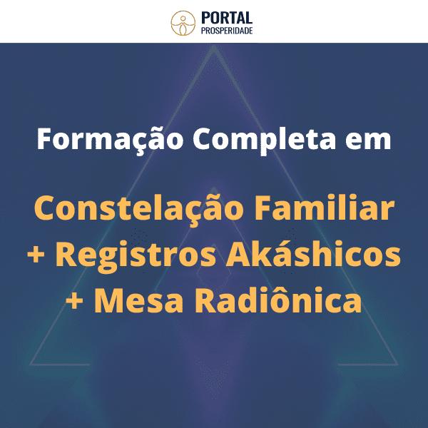 Formação Completa em Registros Akáshicos, Constelação Familiar e Mesa Radiônica