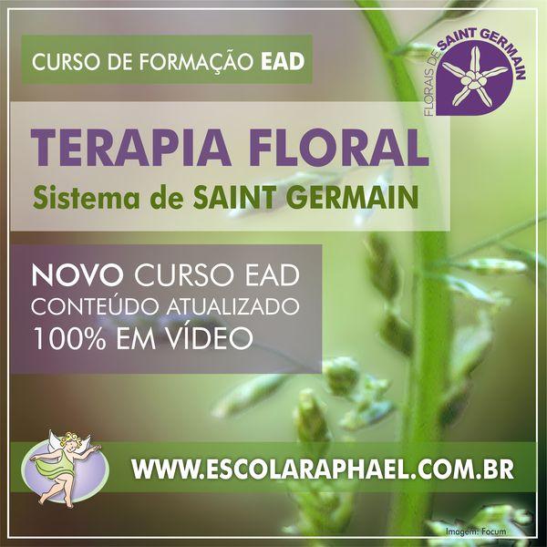 Formação em Terapia Floral - Sistema de Saint Germain e Bach