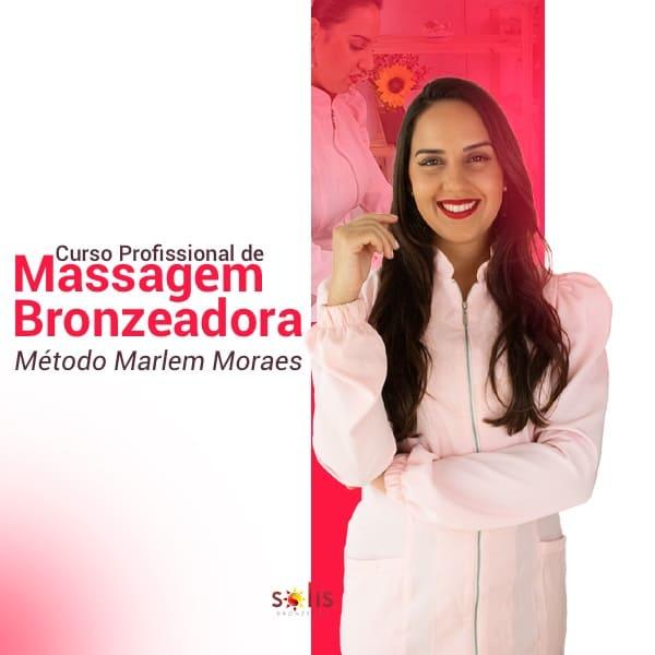 Curso de Massagem Bronzeadora Marlem Moraes