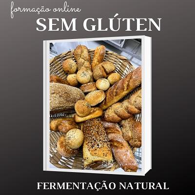 Pães sem glúten de fermentação natural