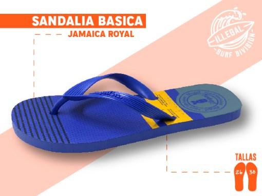 <b>SANDALIA MARCA ILEGAL</b>  <b>PARA CABALLERO</b>  <b>TALLAS DEL 26 A 30 CM</b>  <b>PRECIO ESPECIAL A MAYORISTAS</b>  <b>mayoreo@comprastodo.com</b>  <b>SOMOS FABRICANTES</b> Sandalia Jamaica Royal