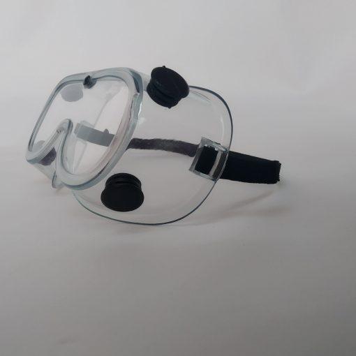 """medicos Las gafas de seguridad médica pueden proporcionar cobertura completa a sus ojos sin distorsionar su visión bloqueando las partículas voladoras salpicaduras líquidas de polvo de viento químicos u otros peligros externos.  Características: el marco óptico está hecho de cloruro de polivinilo de calidad alimentaria respetuoso con el medio ambiente.  La ventilación indirecta reduce la condensación. El diseño de gran tamaño y la diadema elástica puede adaptarse a la mayoría de las personas.  Antivaho resistencia a los arañazos resistencia estática resistencia a las salpicaduras químicas.  Puede prevenir eficazmente las partículas voladoras salpicaduras de polvo de viento vapores químicos u otros peligros externos.  Adecuado para uso médico fábrica química mina laboratorio farmacia hospital, etc. Especificaciones: Material: PVC  <strong>PRECIO ESPECIAL A MAYORISTAS</strong> <a href=""""mailto:mayoreo@comprastodo.com""""><strong>mayoreo@comprastodo.com</strong></a> <strong>SOMOS FABRICANTES</strong> Googles Medicos Nivel Quirurgico"""