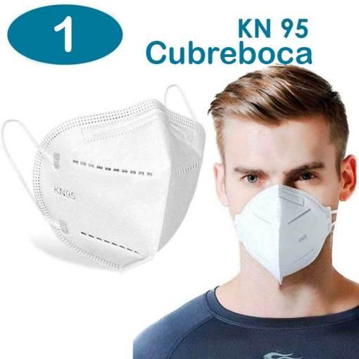 """kn95 <h1>CUBRE BOCAS KN95</h1> <h2>VENTA INDIVIDUAL MASCARA KN95</h2> •Cubrebocas N95 con certificación CE y FDA.  •Tela no tejida , Spray solvente KN95, aislamiento térmico de algodón.  •Certificada bajo la norma GB2626-2006.  •Cubrebocas purificador de aire que contiene un medio filtrante electroestatico que permite filtrar mas del 95% de las partículas aéreas.  •Eficiencia del 95%.  • Diseño plegable resistente y de material ligero que permite sea fácil de guardar y transportar.  •Recomendada por la Secretaria de Salud.  •Mascarilla diseñada para uso personal y preferentemente para uso médico  <strong>PRECIO ESPECIAL A MAYORISTAS</strong> <a href=""""mailto:mayoreo@comprastodo.com""""><strong>mayoreo@comprastodo.com</strong></a> 1 Cubrebocas KN95"""