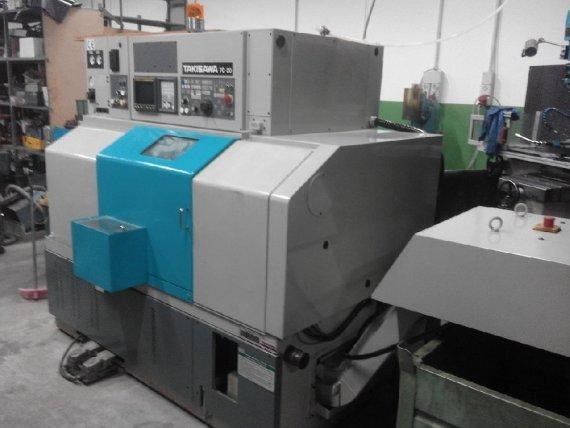 Makinate |Tornio CNC da ripresa con utensili fissi Takisawa TC 20 1