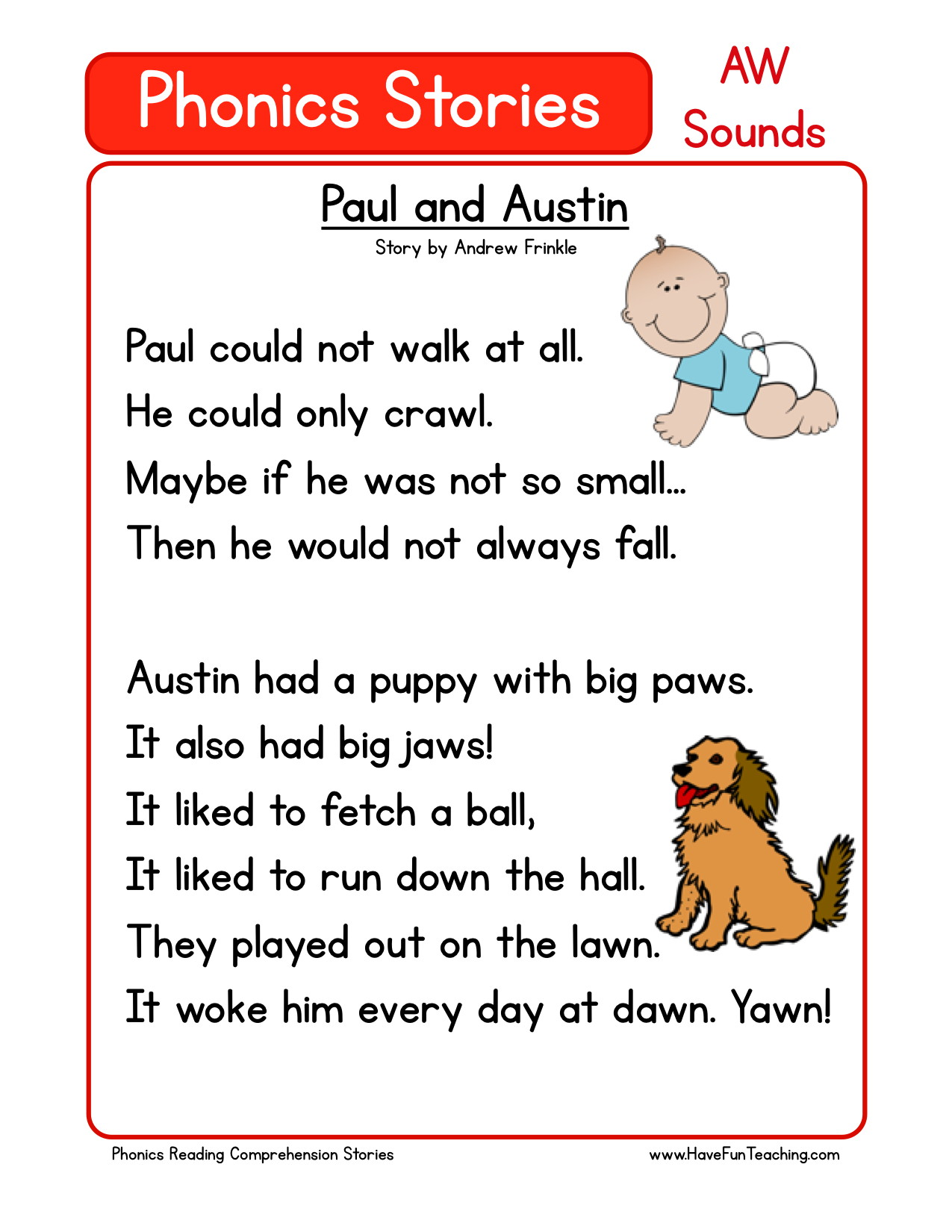 Quistions Pre K Reading Worksheet